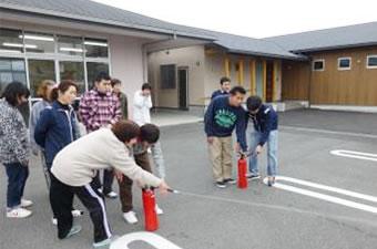 避難訓練消防訓練